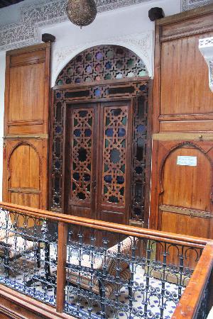 Riad Adarissa: Puerta de la habitación