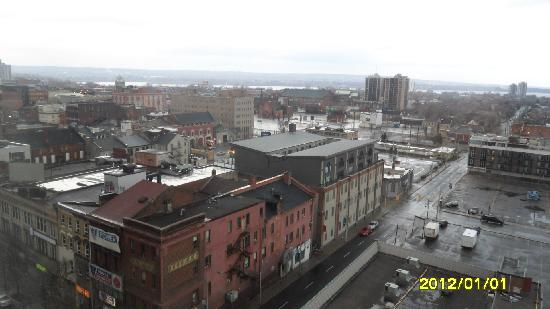 Crowne Plaza Hotel Hamilton: Another View From Room 811