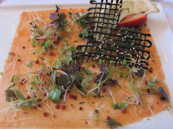 Wise Vineyard Restaurant: Salmon Carpaccio
