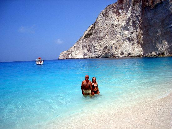 Blue Sea Pics Dont Do It Justice Picture Of Navagio Beach Arkadia Hotel