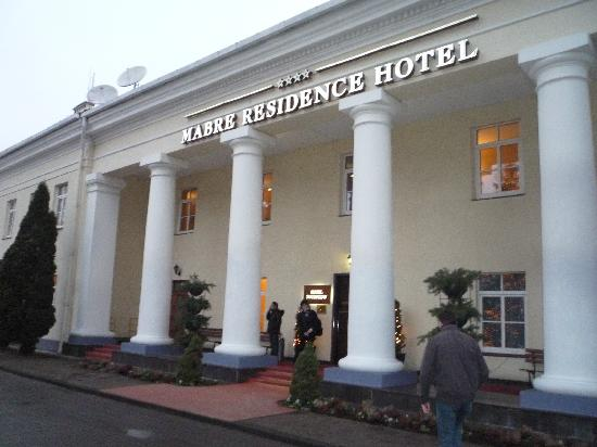 Mabre Residence Hotel: entrata