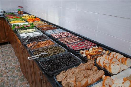 Dara Hotel Istanbul: Breakfast