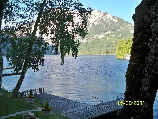 Hotel Seevilla: Blick vom Zimmer-Balkon