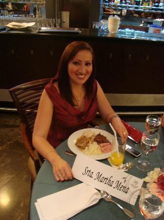 Sheraton Guayaquil Hotel: El momento de la cena