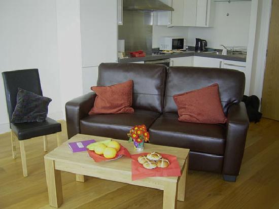 Bridge Street Apartments : sitting area 401