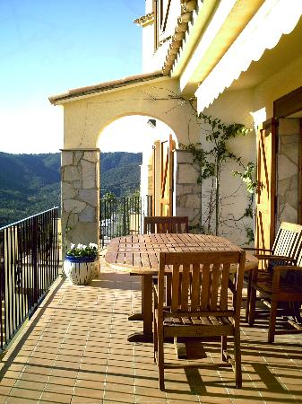 Casa Nickel: Breakfast Terrace
