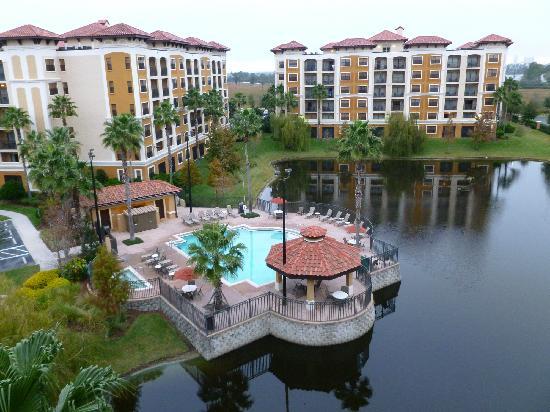 Floridays Resort: vue du balcon de la chambre