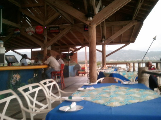 Pier 1 : Outside Dining Area