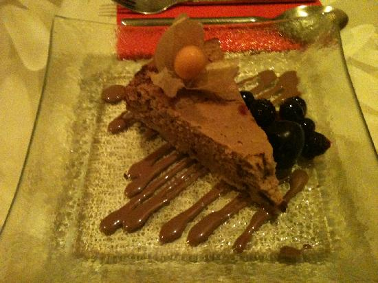 Samsara: Amazing chocolate cheesecake