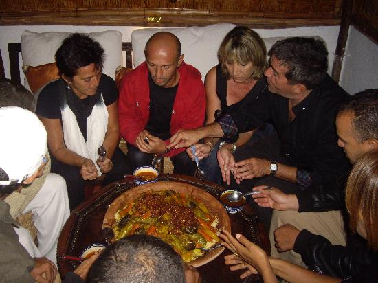 "Riad Dar Najat: Best Royal Couscous party in Marrakech in ""Dar Najat's Kitchen"""
