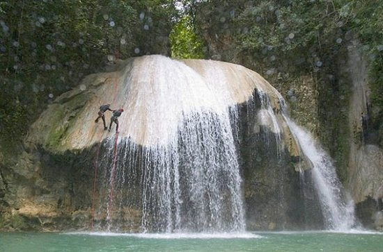 Cabarete, Dominikanska Republiken: Canyoning -  Magic Mushroom