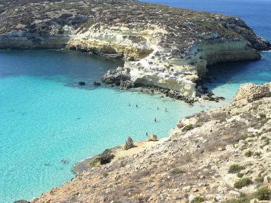 Lampedusa, Italia: Isola e Isolotto dei conigli