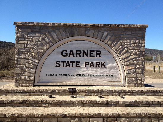 Texas: entrance sign