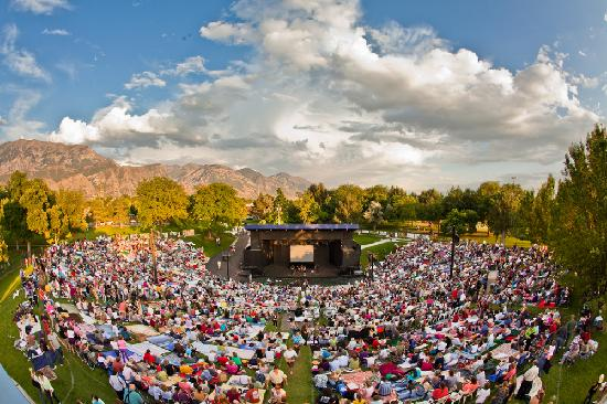 Orem, UT: SCERA Shell Outdoor Theater