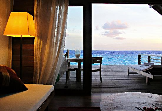 Cocoa Island by COMO: Room with a view