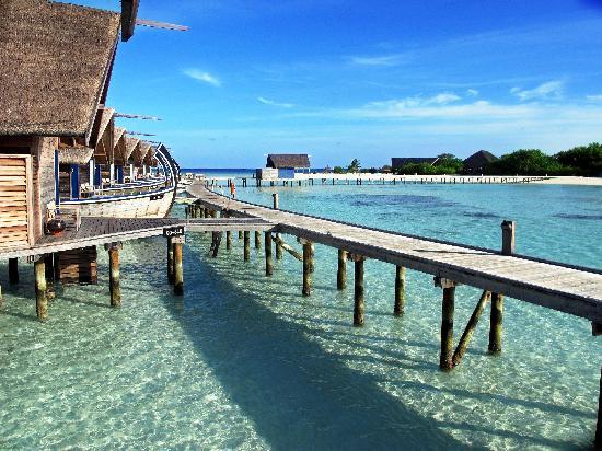 Cocoa Island by COMO: Fancy a stroll