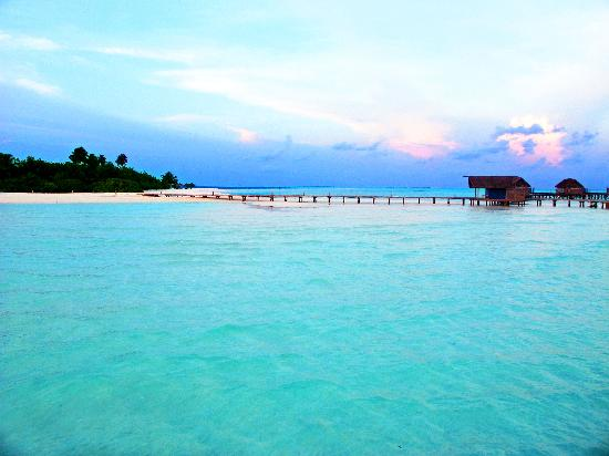 COMO Cocoa Island: Nice picture, but nowhere close to the real thing