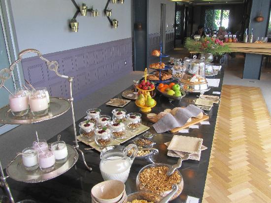 Majeka House: Breakfast buffet