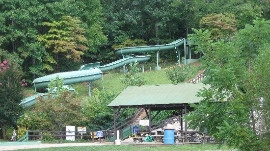 Hidden Creek Camping Resort: Get your thrills on the waterslide