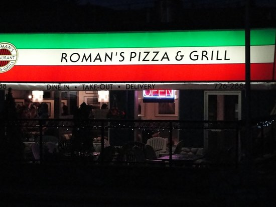 Romans: Roman's Pizza & Grill