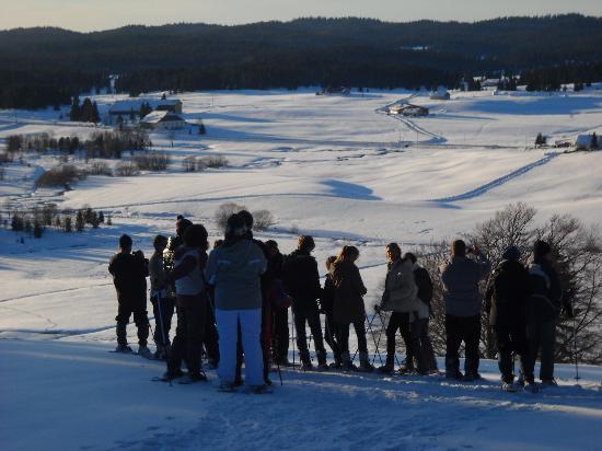 Village Club Cap'vacances de Chapelle-des-Bois : rendonnée avec éric