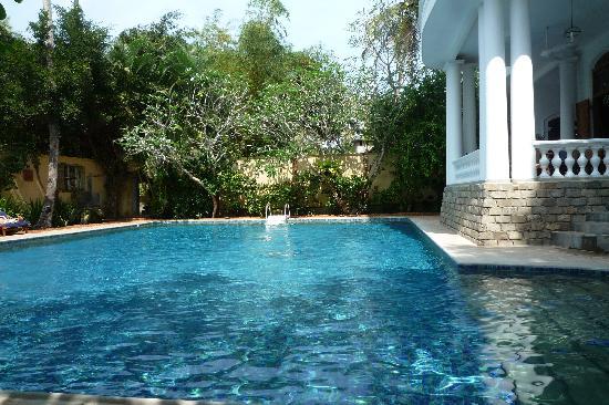 La Maison Nil Manel: la piscine