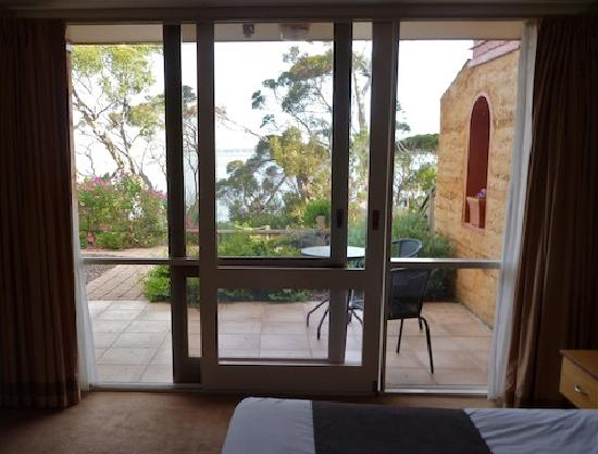 Mercure Kangaroo Island Lodge: View from inside the room