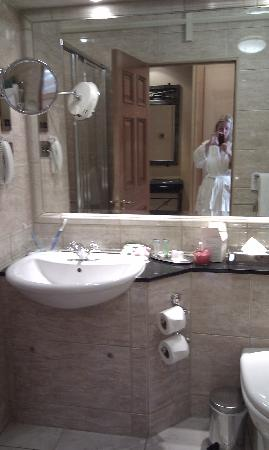 The Johnstown Estate Hotel: Bathroom