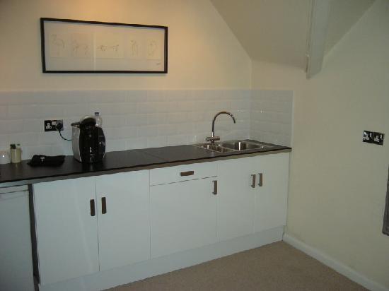Hamilton's - B&B: Kitchen area