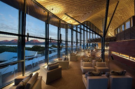 Saffire Freycinet: THE VIEW FROM THE LOUNGE AT SAFFIRE