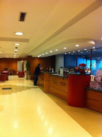 Hotel Tropical: reception hotel Ibis