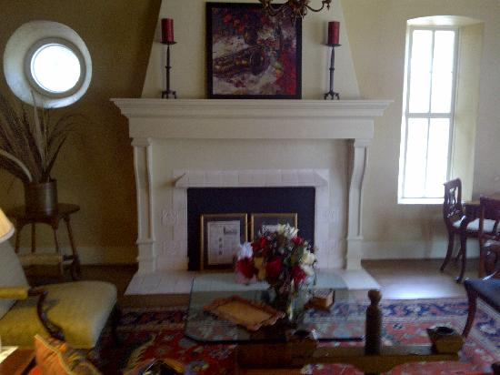 Keidel Inn & Gasthaus: Beautiful fireplace