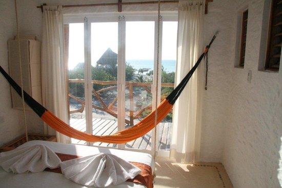 Casa BlatHa: vista desde habitación/room view