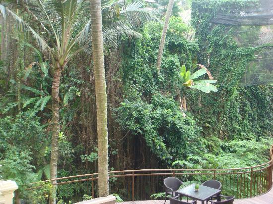 Komaneka at Rasa Sayang: sit and  have a drink here