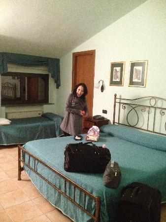 Hotel Dominus : Our room