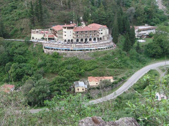 Vista panorámica del hotel