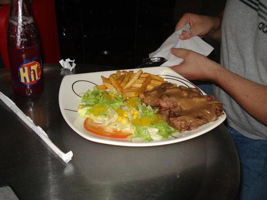 Alex Carne de Res : The meal