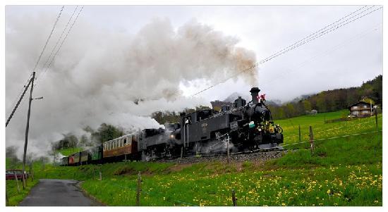 Railway Museum Blonay-Chamby: Traction en montée