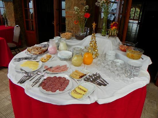 Panamericana Hotel Quintero : Breakfast
