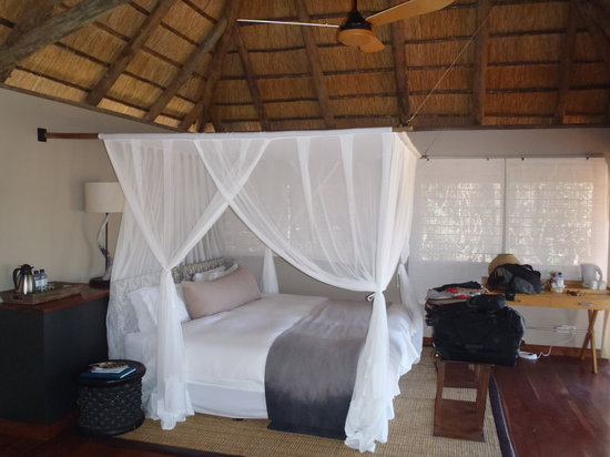 "Savute Safari Lodge: Inside our ""hut"""