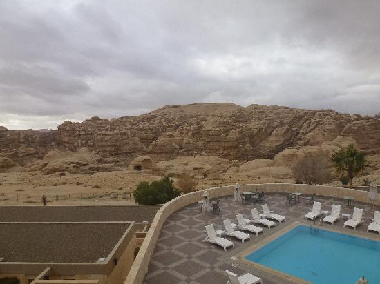 Crowne Plaza Resort Petra: View from our window