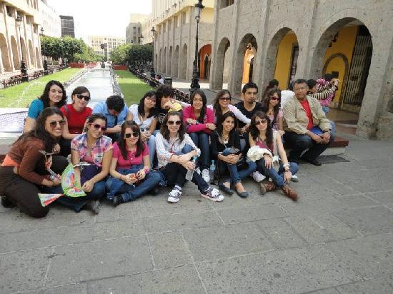 Hotel Aranzazu Centro Historico: En la plaza Tapatía