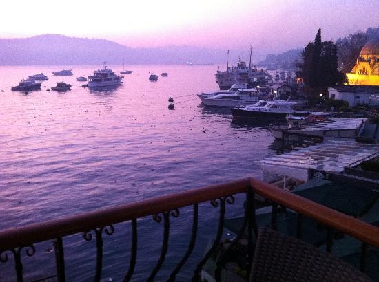 Bebek Hotel : Bosphorus view from the balcony - I