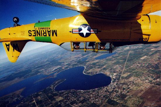 Warbird Adventures: An inverted shot!