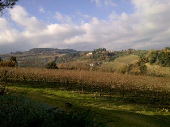 Borgo Tollena: il panorama