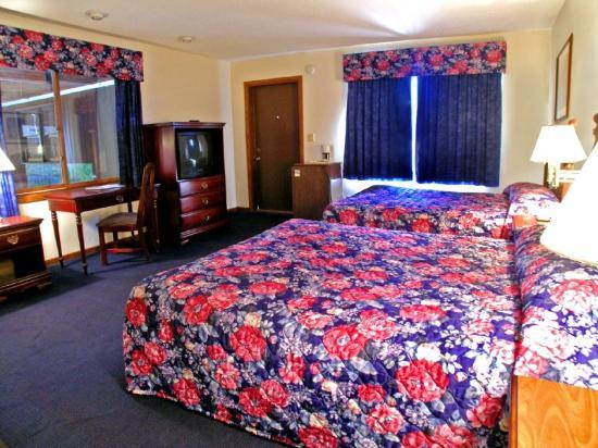 Rodeway Inn & Suites Eau Claire: Standard Double