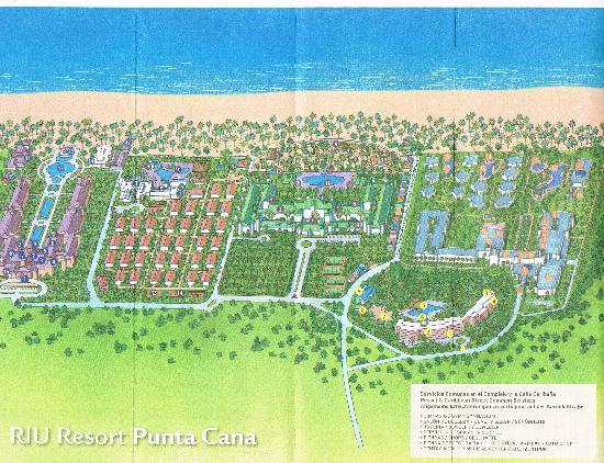 Plan Du Complexe Riu De Punta Cana Picture Of Hotel Riu