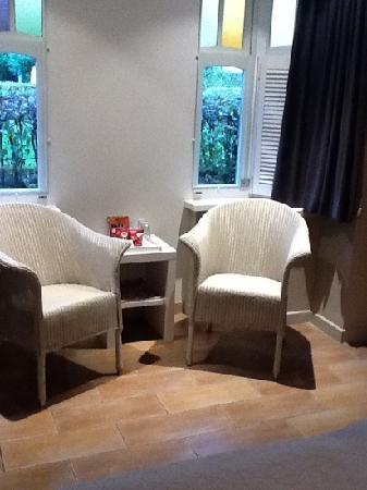 Hotel Montanus: the room