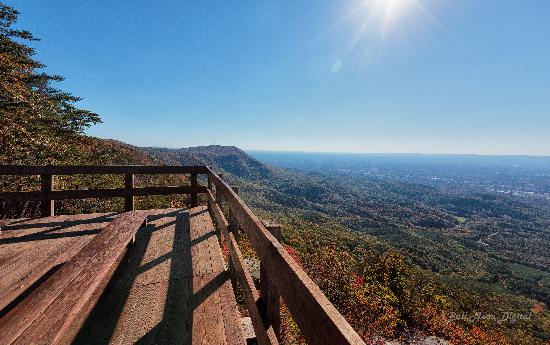 Fort Mountain State Park: Vista From Fort Mountain Top