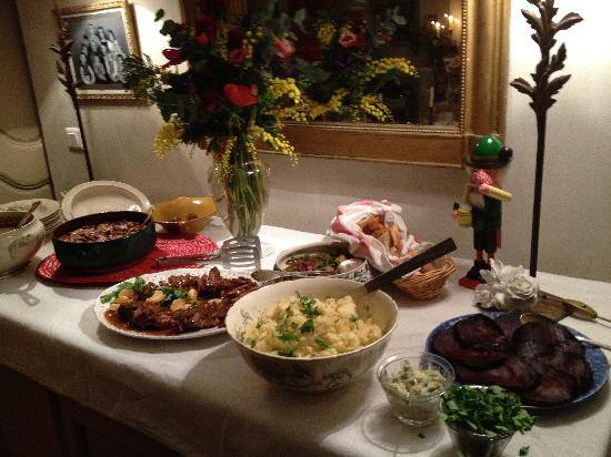 La Maison de Carlotta : French Christmas meal all from the fresh market